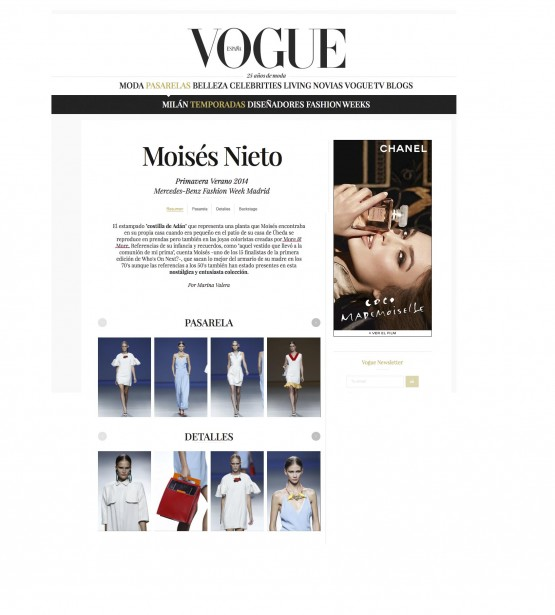 more&more y Moises Nieto Vogue